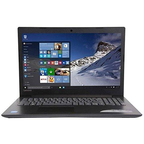 "Lenovo 80XR00WHUS ideapad 320 15.6"" Laptop, Windows 10, Intel Celeron Dual-Core N3350, 4GB RAM, 1TB Hard Drive, Black"
