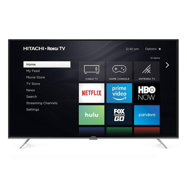 "Hitachi 32RZ2 32"" 720p Roku Smart LED TV, Black (2018 Model)"