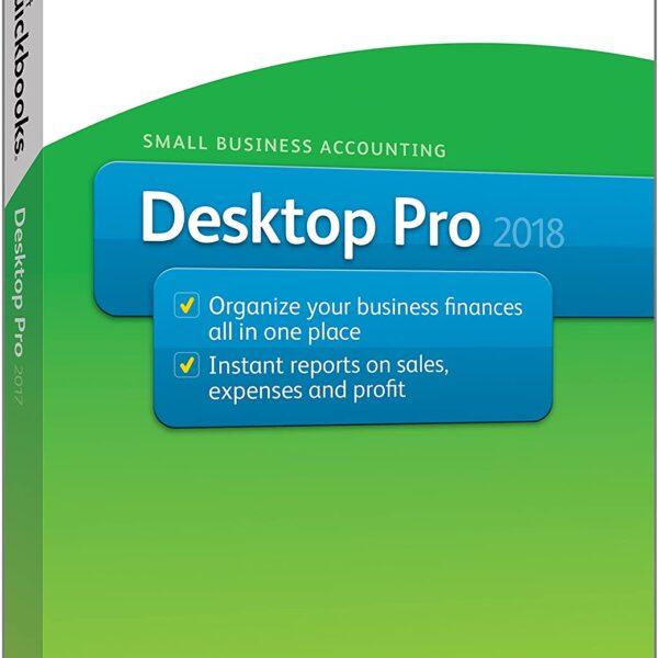 QuickBooks Desktop Pro 2018 [PC Disc] [OLD VERSION]