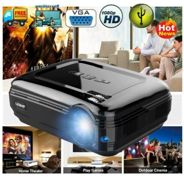 4K 1080P FHD Android Projector