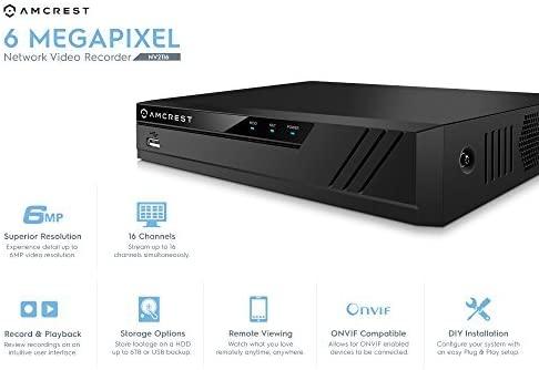 16CH 1080P/3MP/4MP/5MP/6MP NVR