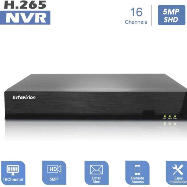 16CH 5MP NVR H.265