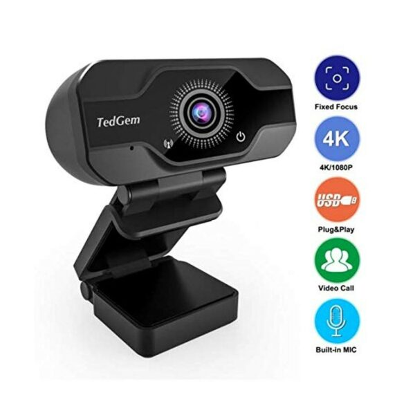 HDPro Webcam 8MP 4K USB