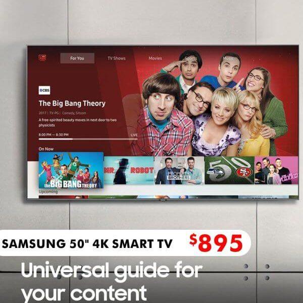 samsung 4k smart tv